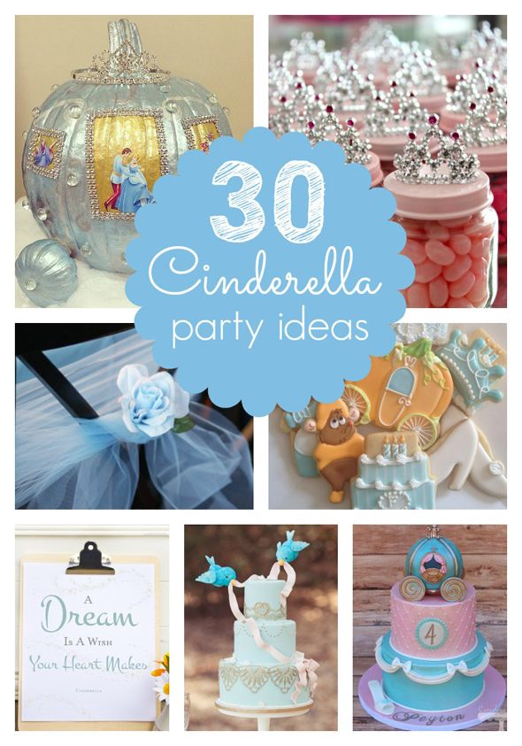 30 Cinderella Party Ideas Pretty My