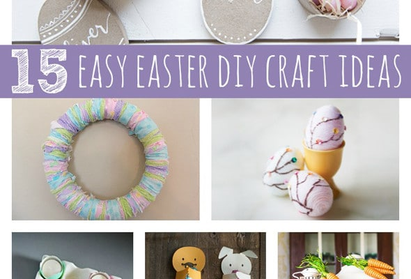 15 Easy Easter DIY Ideas