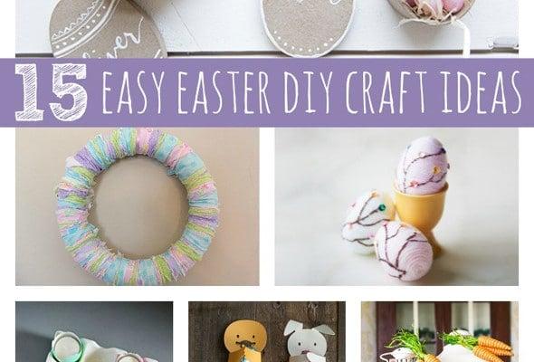 15 Easy Easter DIY Ideas