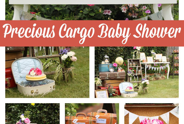 Precious Cargo Themed Baby Shower