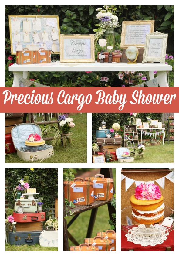 Precious Cargo Themed Baby Shower Pretty My Party