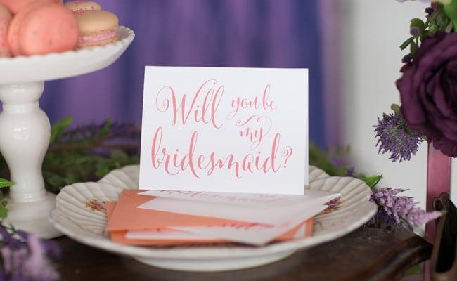 Will You Be My Bridesmaid Shoot