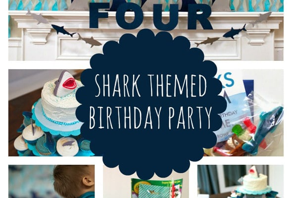 Sweet Shark Birthday Party