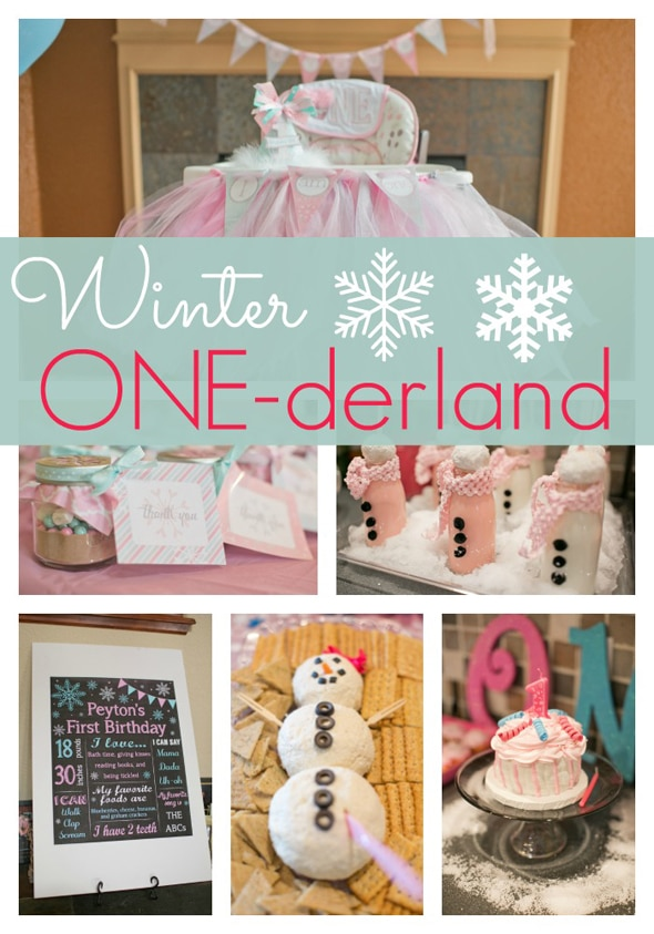 Winter ONEderland First Birthday  Pretty My Party ~ 213913_Birthday Party Ideas Winter