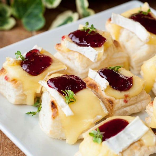 Brie-Cranberry-Bites