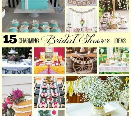 15 Charming Bridal Shower Ideas
