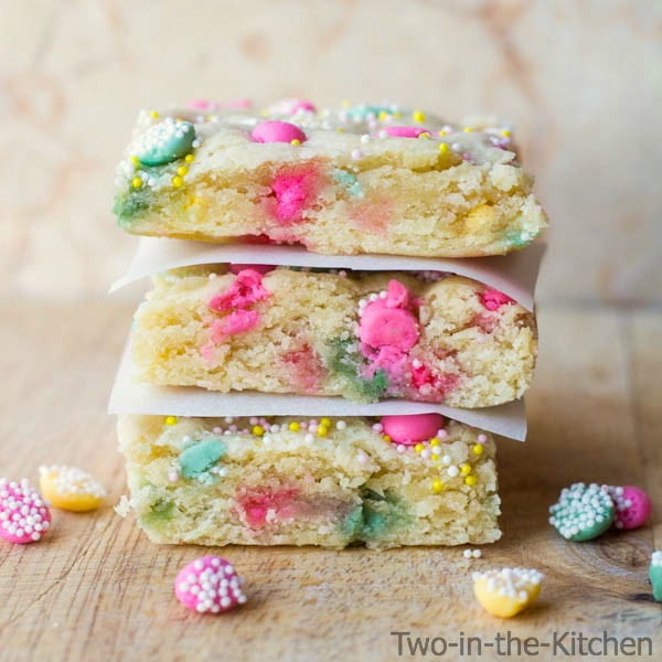 Mint Sugar Cookie Bars Recipe