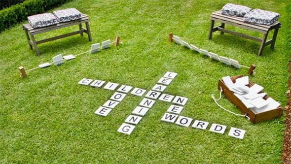 Outdoor-Scrabble