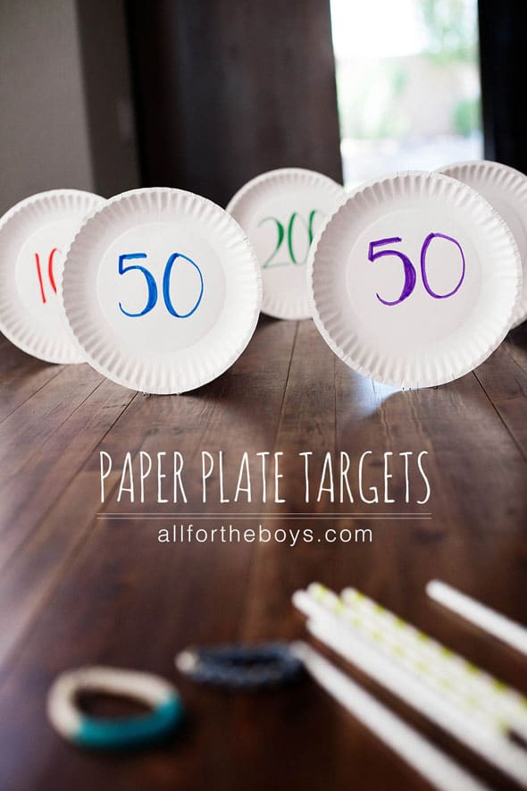 Paper-Plate-Targets