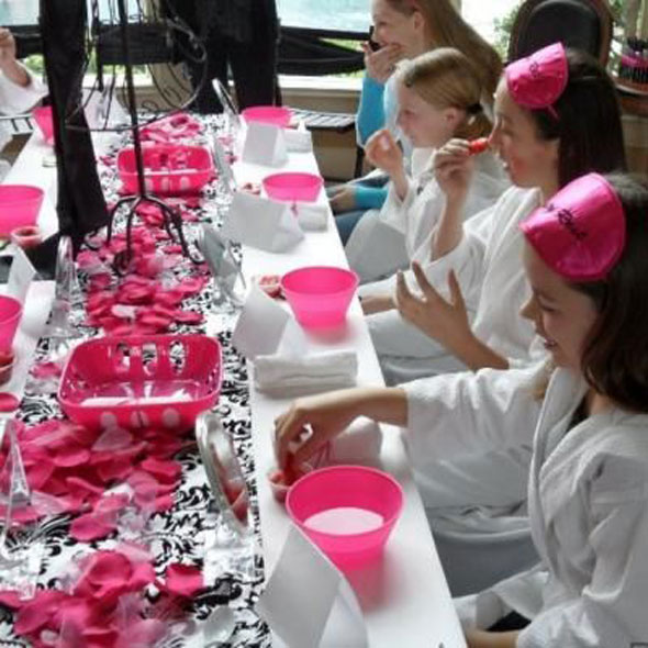 Kid & Teen Spa Birthday Party Ideas - Feel Fabulous