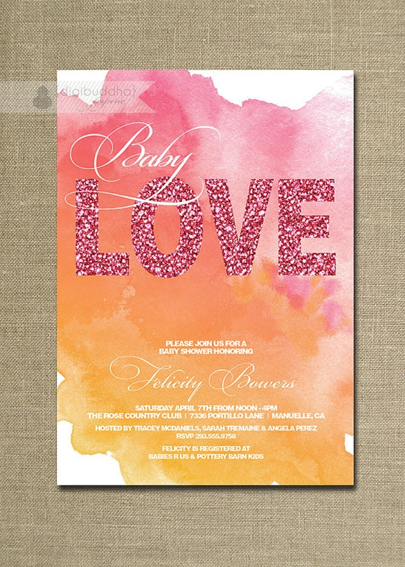 baby-love-watercolor-baby-shower