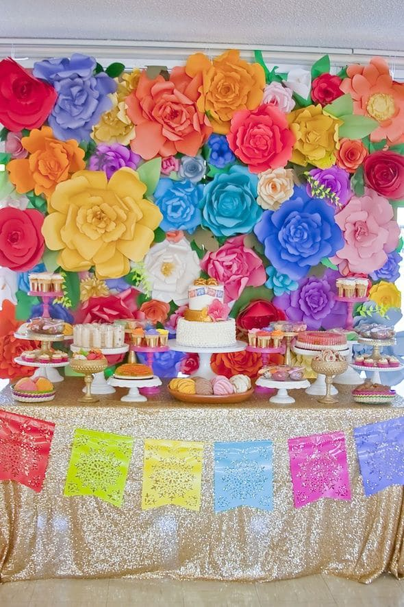 Cinco de mayo party ideas pretty my party for Mexican party decorations