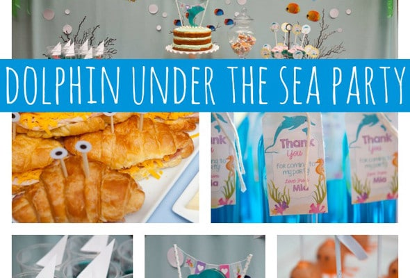 Dolphin Under the Sea Party