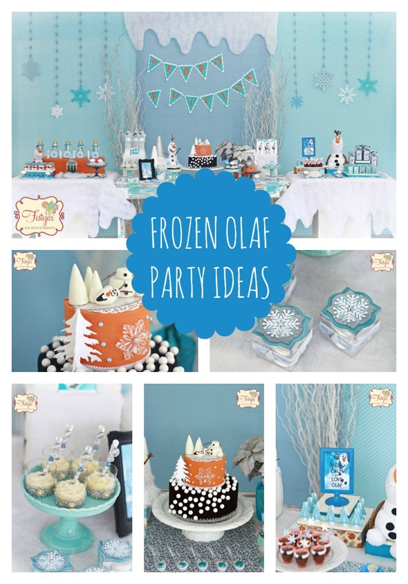 Frozen Olaf Birthday Party Pretty My Party