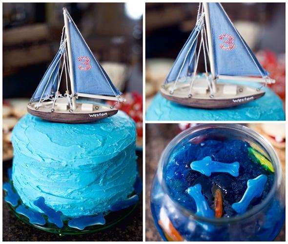 nautical-boat-birthday-cake