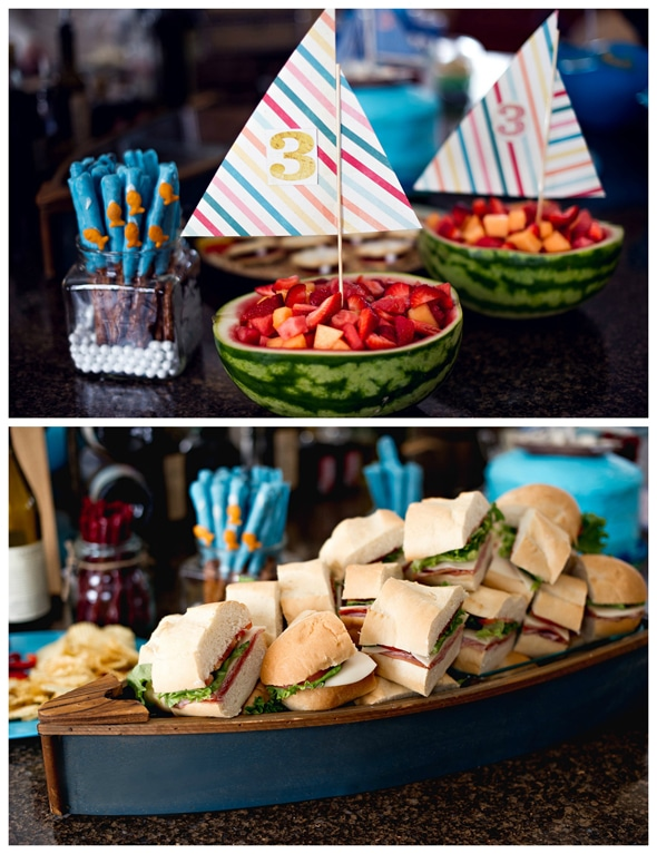 watermelon-boat-fruit-salad-nautical-party