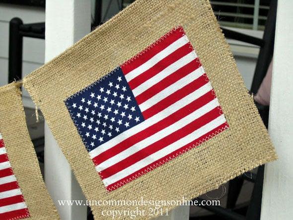 Burlap-Flag-Banner