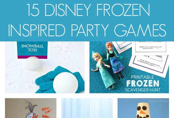 15 Disney Frozen Inspired Party Games