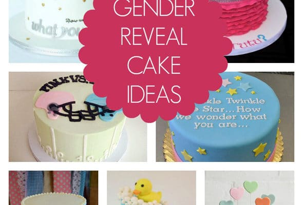 Cake Ideas For Baby Reveal Party : 10 Gender Reveal Cake Ideas Archives - Pretty My Party