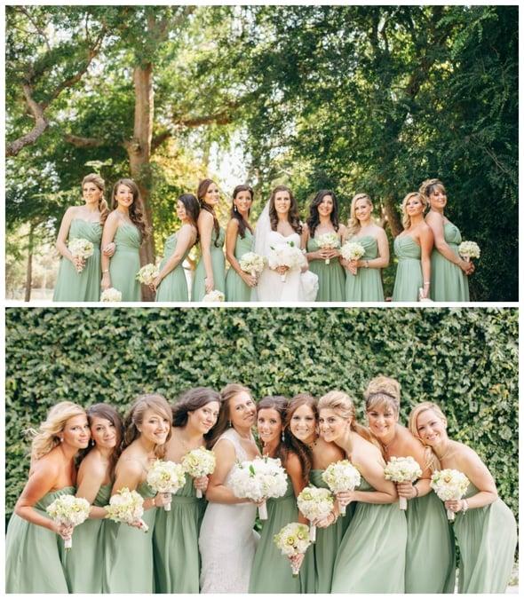 light-green-bridesmaids-dresses