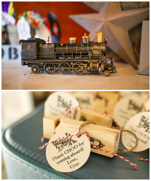 Vintage Train Birthday Party Pretty My Party