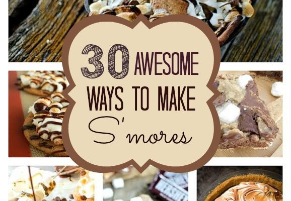 30 Awesome Ways to Make Smores