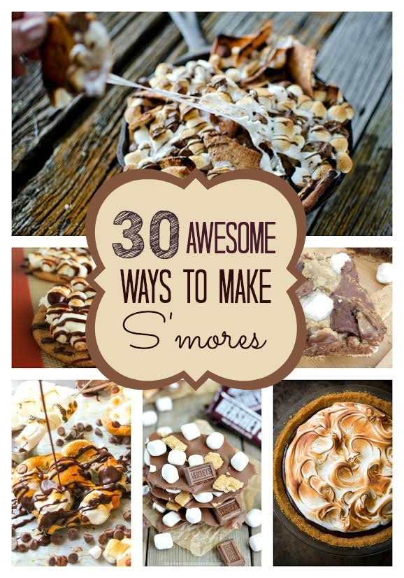 30 Awesome Ways To Make Smores Pretty My Party