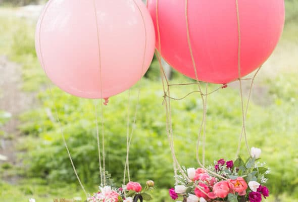 Sparkly Pink First Birthday Party