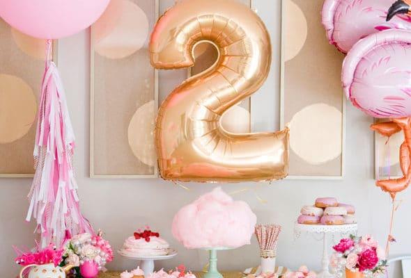 flamingo theme birthday party