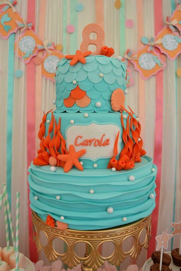 Mermaid-Cake