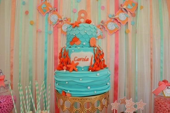 Mermaid-Party-Cake