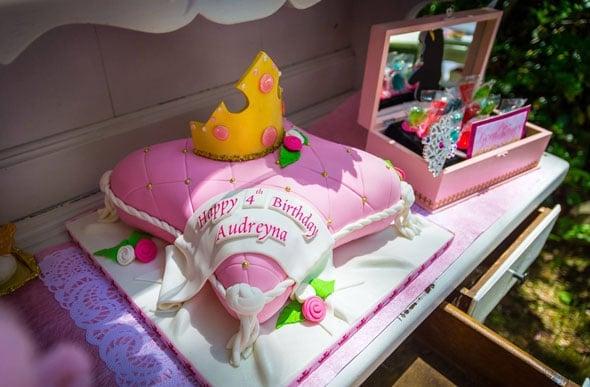 Enchanted Princess Aurora Tea Party