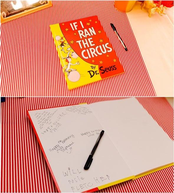 Circus-Party-Book