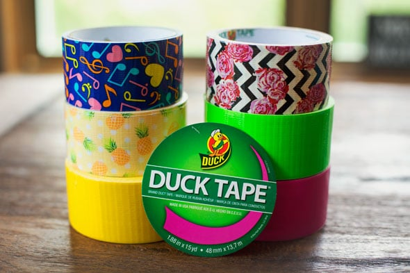 Back to School Craft Ideas with The Duck Tape Brand - Pretty