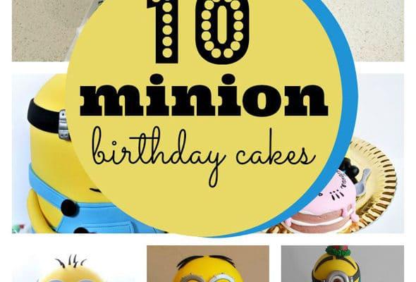 10 Amazing Minion Birthday Cakes Archives Pretty My Party