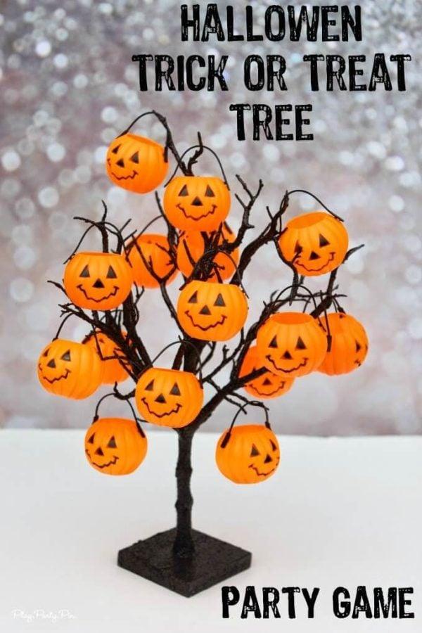 Halloween Trick Or Treat Tree Game
