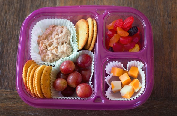 Non-Sandwich School Lunch Box Ideas