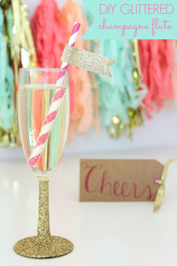 diy-glittered-champagne-flute