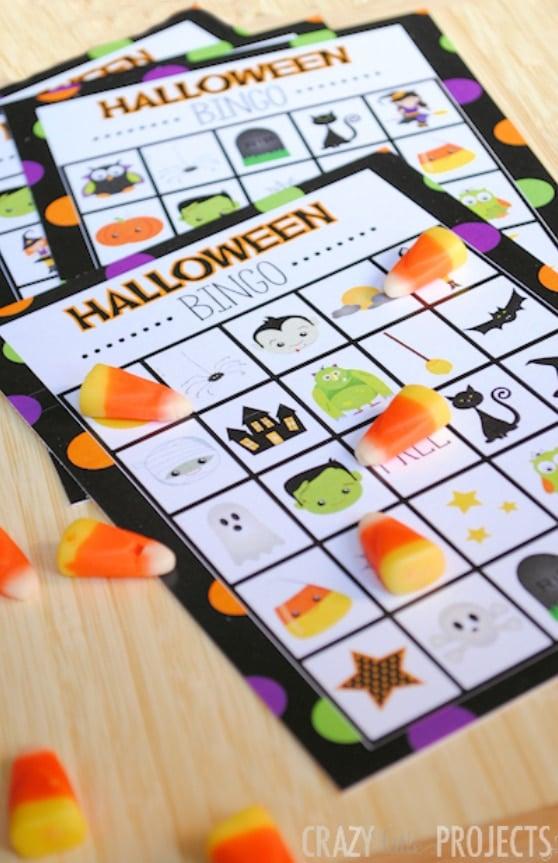 Free Halloween Game Bingo