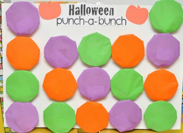 Halloween Punch A Bunch Game