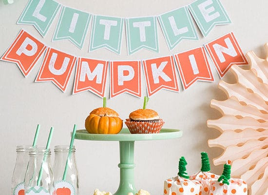 21 Little Pumpkin Baby Shower Ideas
