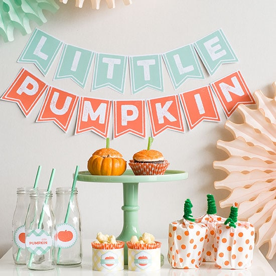 Little Pumpkin Dessert Table | Little Pumpkin Baby Shower Ideas