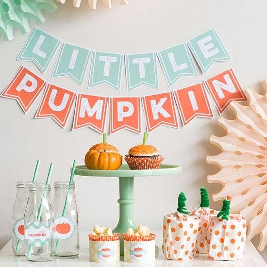 Little Pumpkin Dessert Table   Little Pumpkin Baby Shower Ideas