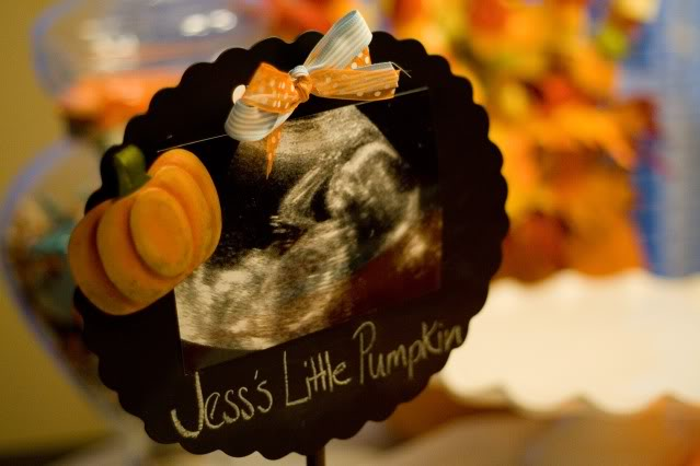 Little Pumpkin Ultrasound Photo   Little Pumpkin Baby Shower Ideas