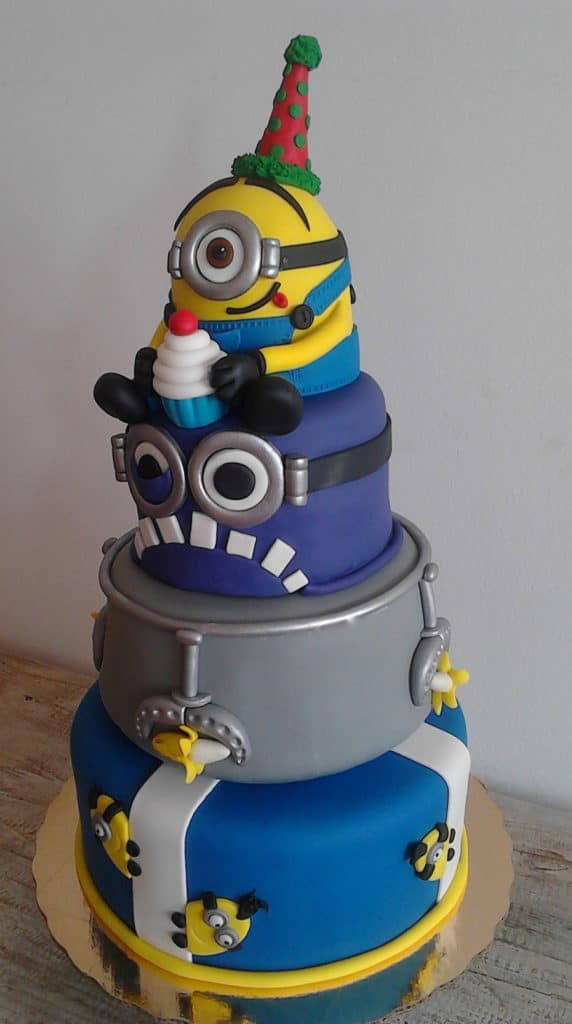 Creative Minions Birthday Cake