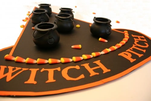 Witch Pitch Halloween Game
