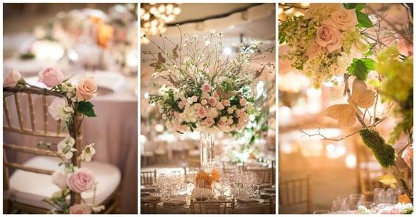 elegant enchanted forest wedding