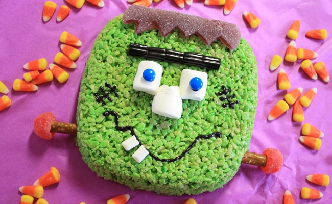 15 Fun Halloween Inspired Rice Krispie Treats
