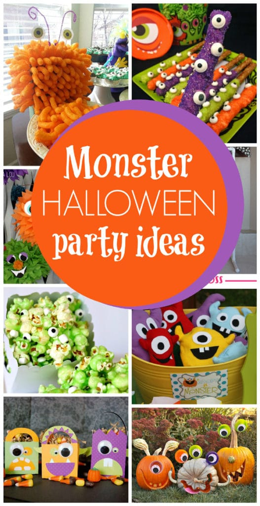 Monster Theme Party Ideas - Pretty My Party