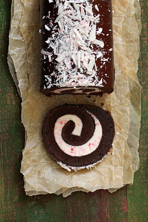 Peppermint Chocolate Rolls via Pretty My Party